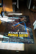 Star Trek First Contact 4x6 Ft Vintage French Grande Movie Poster Original 1996