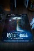 The Haunted Mansion Walt Disney 4x6 Ft Vintage French Grande Movie Poster 2004