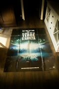The Day The Earth Stood Still 4x6 Ft French Grande Movie Poster Original 2008