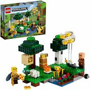 Lego Minecraft Bee Apiary 21165 Educational Block Toys From Japan Brand New