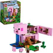 Lego Minecraft Pig House 21170 Educational Block Toys 2021 From Japan Brand New