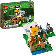 Lego Minecraft Chicken Coop 21140 Educational Block Toys From Japan Brand New