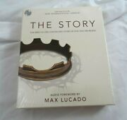 Niv, The Story, Audio Cd The Bible As One Continuing Story Of God And New Sealed