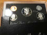 1997 S Us Mint Silver Proof 5 Coin Set With Box/coa-5 Coin Set-021421-0021
