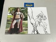 Red Sonja The Superpowers 3 125 Cosplay And 140 Linsner Sketch Variant Dynamite