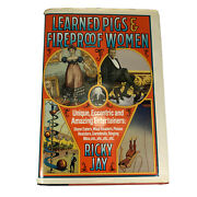 Learned Pigs And Fireproof Women By Ricky Jay Sideshow Acts Hardcover Rare