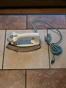 Vintage Sears Kenmore Iron -lady Kenmore- Cloth Cord Works Mint Cond