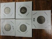 Lot Of Liberty V Nickle's 2-1899, 1898,1907,1911