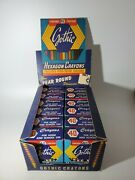 Vintage Gothic Hexagon Crayons 12 Boxes Full Store Display New Rare