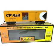 30-74394 Mth Canadian Pacific Rounded Roof Box Car W/generator