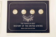 Franklin Mint History Of The United States Mini-coin Complete Collection Newandnbsp