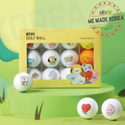 Bt21 Baby Character Golf Ball 12ea Set Official K-pop Authentic Goods