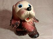 Vintage Soviet Ussr Russian Rubber Toy Puppy About 1959