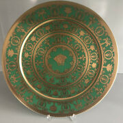 Limited Edition Versace I Love Baroque Vert Service Plate 13 Rosenthal 33 Cm 35