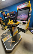 La Machineguns Deluxe Full Size Arcade Shooting Game Works 2 Players