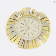 Gold Watch Ring - Vintage 18ct Yellow Gold Jaeger-le Coultre Watch Ring