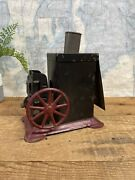 Vintage Collectible Tin Toy Projector Toy For Restoration Or Parts, Rare Toy