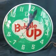 Vintage Bubble Up Electric Wall Clock