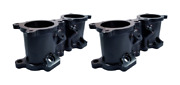 Torque Solution Black Top Feed Tgv Housings For 2008-2014 Wrx And 2007-2019 Sti