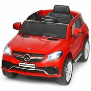 Durable 12v Mercedes Benz Gle Licensed Red Childrenand039s Ride On Car -