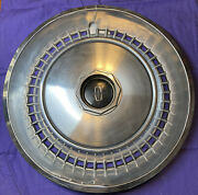 Lincoln Continental Towncar 1973 1974 15 Hubcap Wheelcover Cover Cap Oem Car