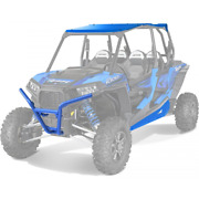 Polaris Rzr Roof / Rock Sliders / Front And Rear Bumpers Voodoo Blue 2014-2018