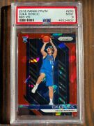 Luka Doncic 2018-19 Panini Prizm Red Ice Psa 9 280 Crossover Potential Invest