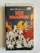 101 Dalmatians Black Diamond Edition Vhs Brand New Sealed Disney Classic