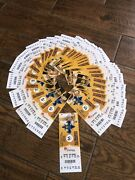 Anthony Davis Debut Ticket Nba First Game Entire Rookie Home Season Lot Lakers
