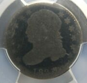 1821 P Small Date Capped Bust Silver Dime 10c Jr-09 Pcgs Ag03 About Good