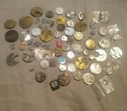 Watchmaker Lot Huge Lot Of Watch Parts And Movements