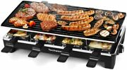 Techwood Raclette Table Grill, Electric Indoor Grill Korean Bbq Grill Removable