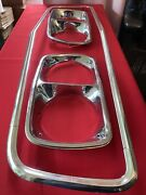 1973 Ford Torino Ranchero Headlight Bezels And Grille Molding Nos Oem Fomoco