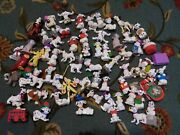 Dalmation Figurines Christmas Ornaments Disney Dogs Mcdonalds Meal Toys 101 102