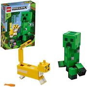Lego Minecraft Big Fig Creeper Tm And Wildcat 21156 Block Toys From Japan New