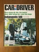 Rare Carroll Shelby And Dan Gurney Cover Indy 500 Car And Driver