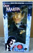 New In Box Vintage Large 18 Dean Martin Animated Singing Figure Gemmy