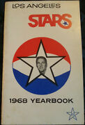 1968 Aba Los Angeles Stars Media Guide/yearbook, 1st Year, Rare