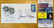 James P Hoffa Signed Autographed First Day Cover Jsa Cert Teamsters Son Of Jimmy