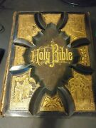1886 Holy Bible Old And New Test King James Version Maps And Illustrations