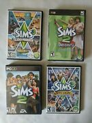 The Sims 2 3 Pc Cd Rom Game Lot Expansion Packs Island Paradise University
