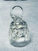 Monticello By Lenox Crystal Small Dinner Bell