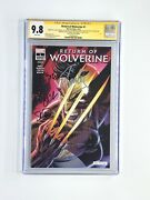 Return Of Wolverine 1 Nycc Gitd Cgc 9.8 Ss Stan Lee, Campbell, Mcniven,soule +1