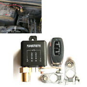 Wireless Remote Car Battery Disconnect Relay Isolator Master Power Kill Switch