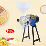 2200w 110v Electric Wet Grinder Feed/flour Mill Cereals Grain Corn Wheat+funnel