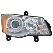 New Rh Hid Headlight Lens Housing Fits 08-16 Chrysler Town And Country Ch2519126