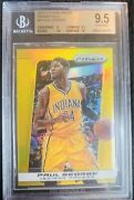 Paul George 2013 Gold Prizm /10 Bgs 9.5 High Subs