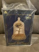 Beauty And The Beast Enchanted Rose Snowglobe - Disney Visa Cardmember Exclusive