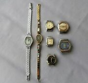 Vintage Mechanical Soviet Womens Watches Vintage Watches 7 Pieces