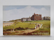 Unused Valentines Postcard Of The R And A Club House And Grand Hotel St Andrews